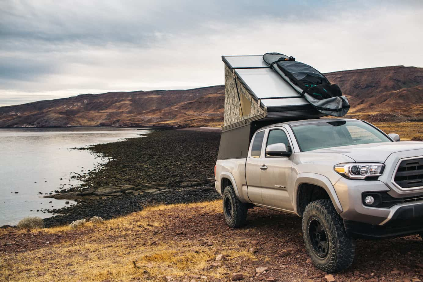 Go Fast Campers Ultra Light Off Road Camper Solutions Expedition Ford Raptor With S When In Use As A Traditional And Actuating The Roof It Will Carry 100 Pounds This Should Be Enough For Most Folks Kayaks Bikes Skis