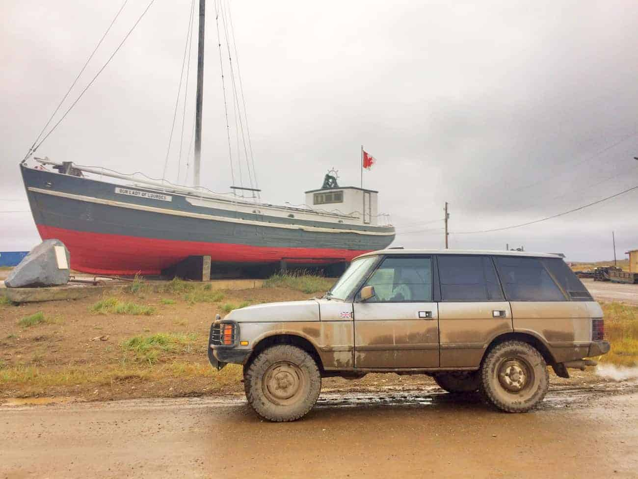 Terrible Choices: A Range Rover Classic for Overlanding