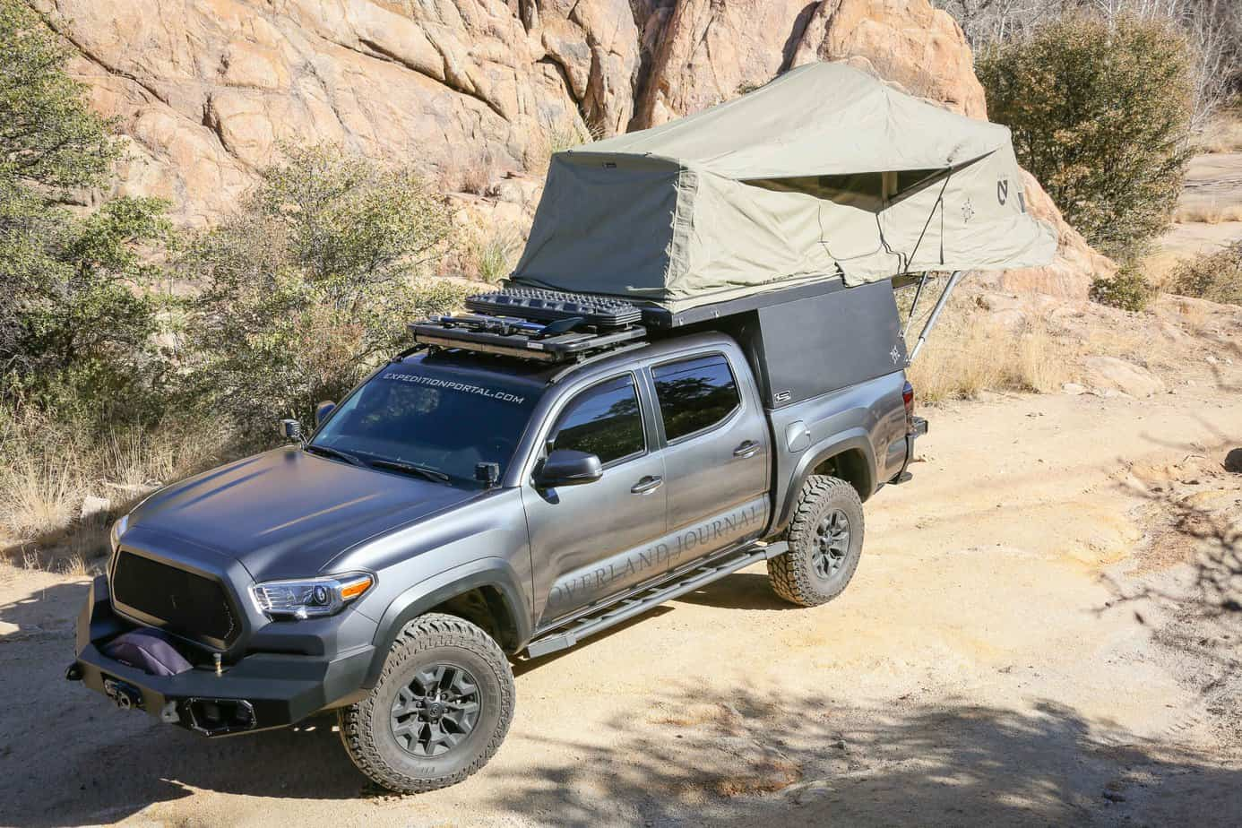 Decked Featured In Overland Journal S Ultimate Tacoma Build