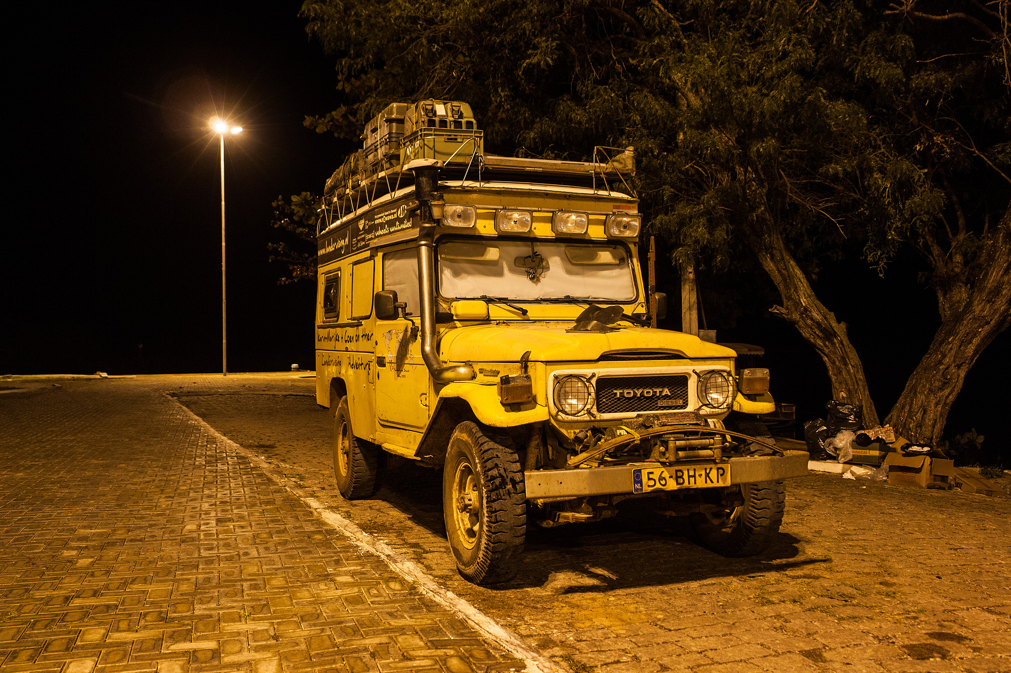 Tips on Keeping your Overland Vehicle safe, low-budget style