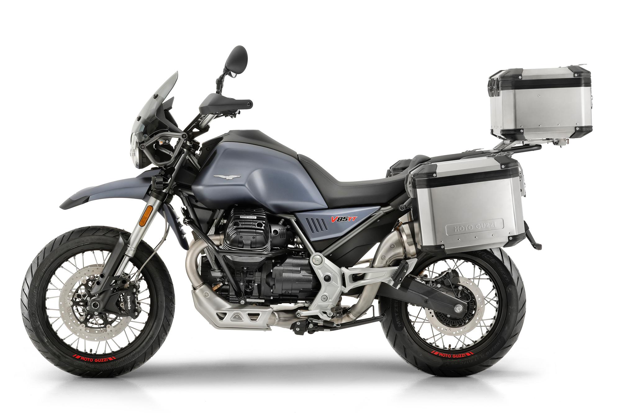 moto guzzi unveils v85 tt expedition portal. Black Bedroom Furniture Sets. Home Design Ideas