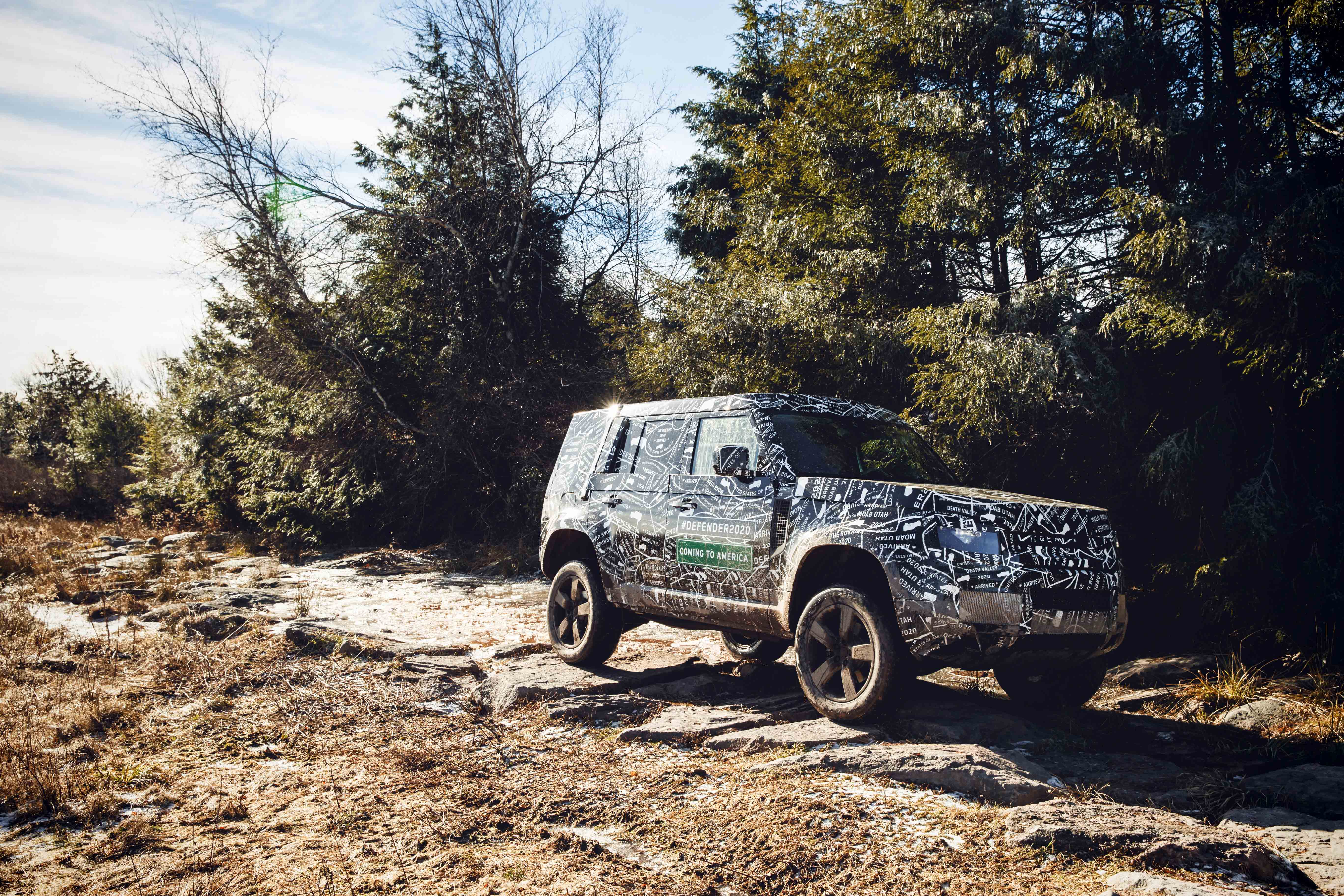 The New 2020 Defender Off Road Expedition Portal