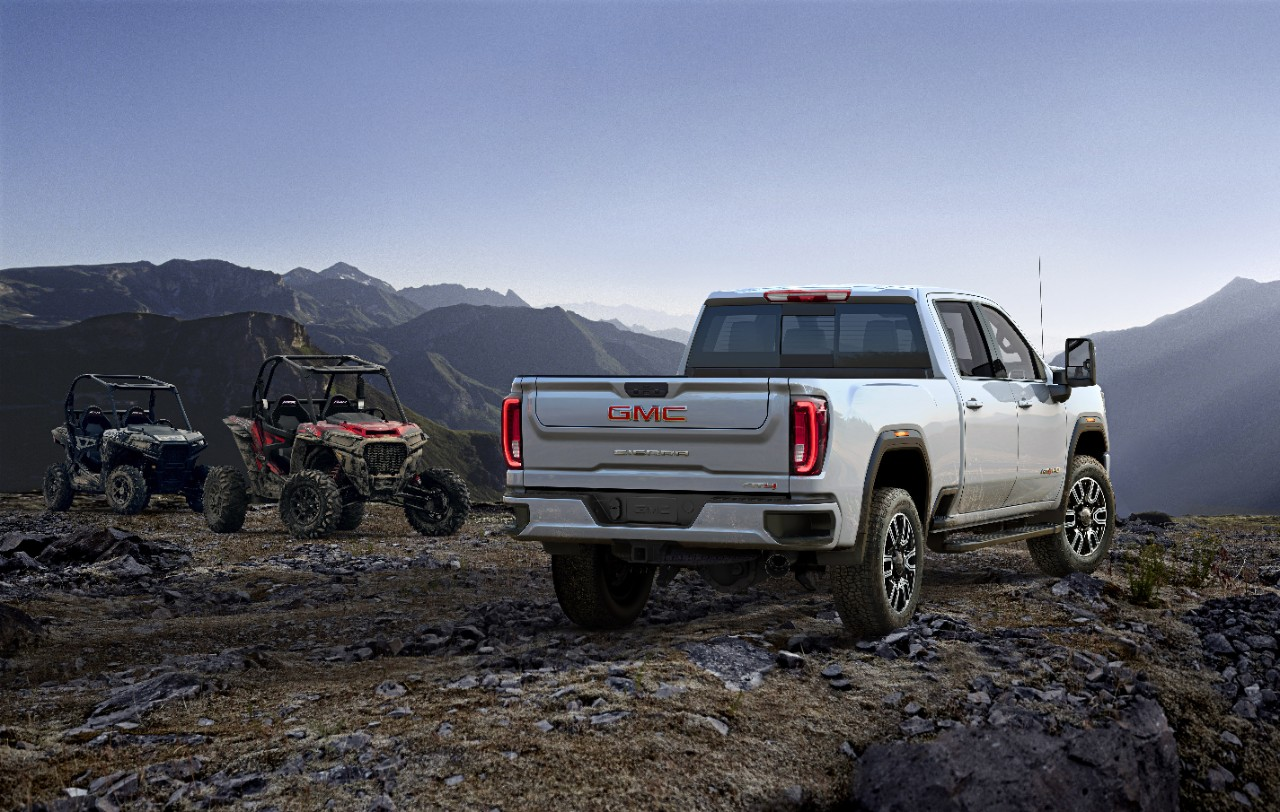 Gmc S At4 Hd Takes Off Road Full Size Expedition Portal
