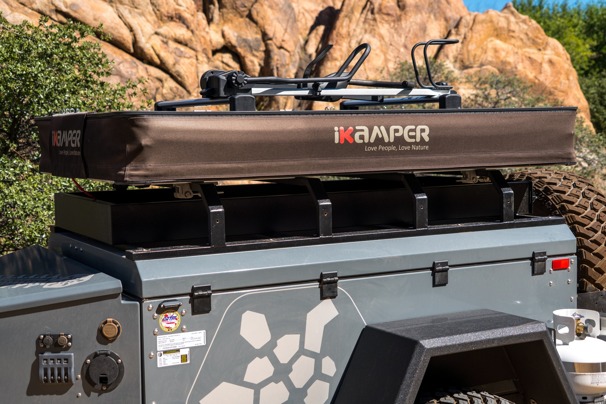 First Test The Ikamper X Cover Roof Top Tent Expedition