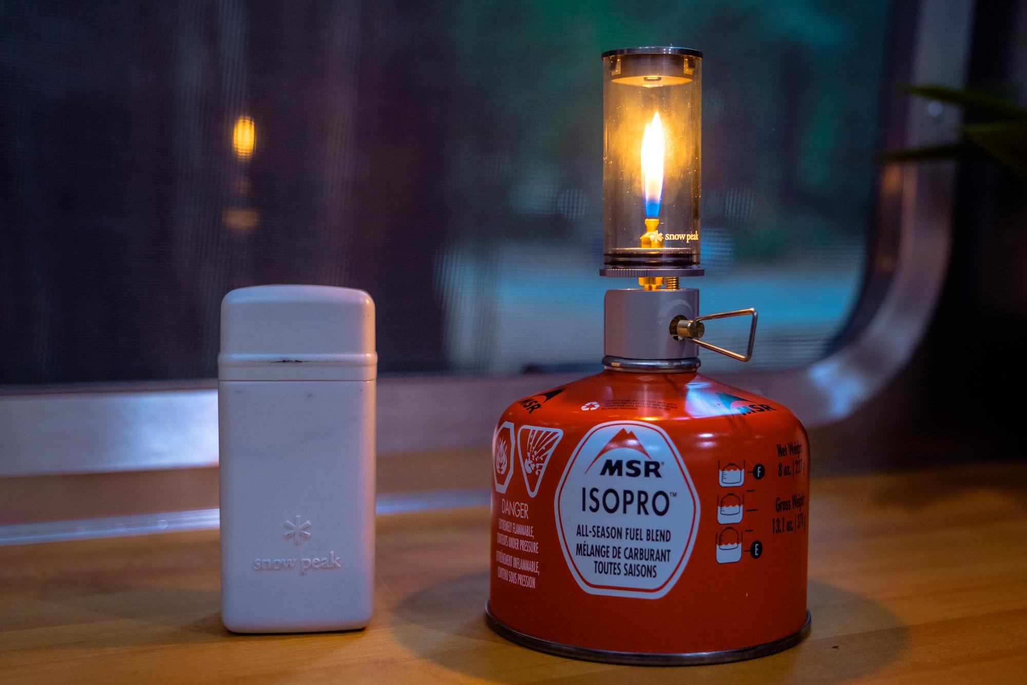 Snow Peak Mini Flamme Lanterne