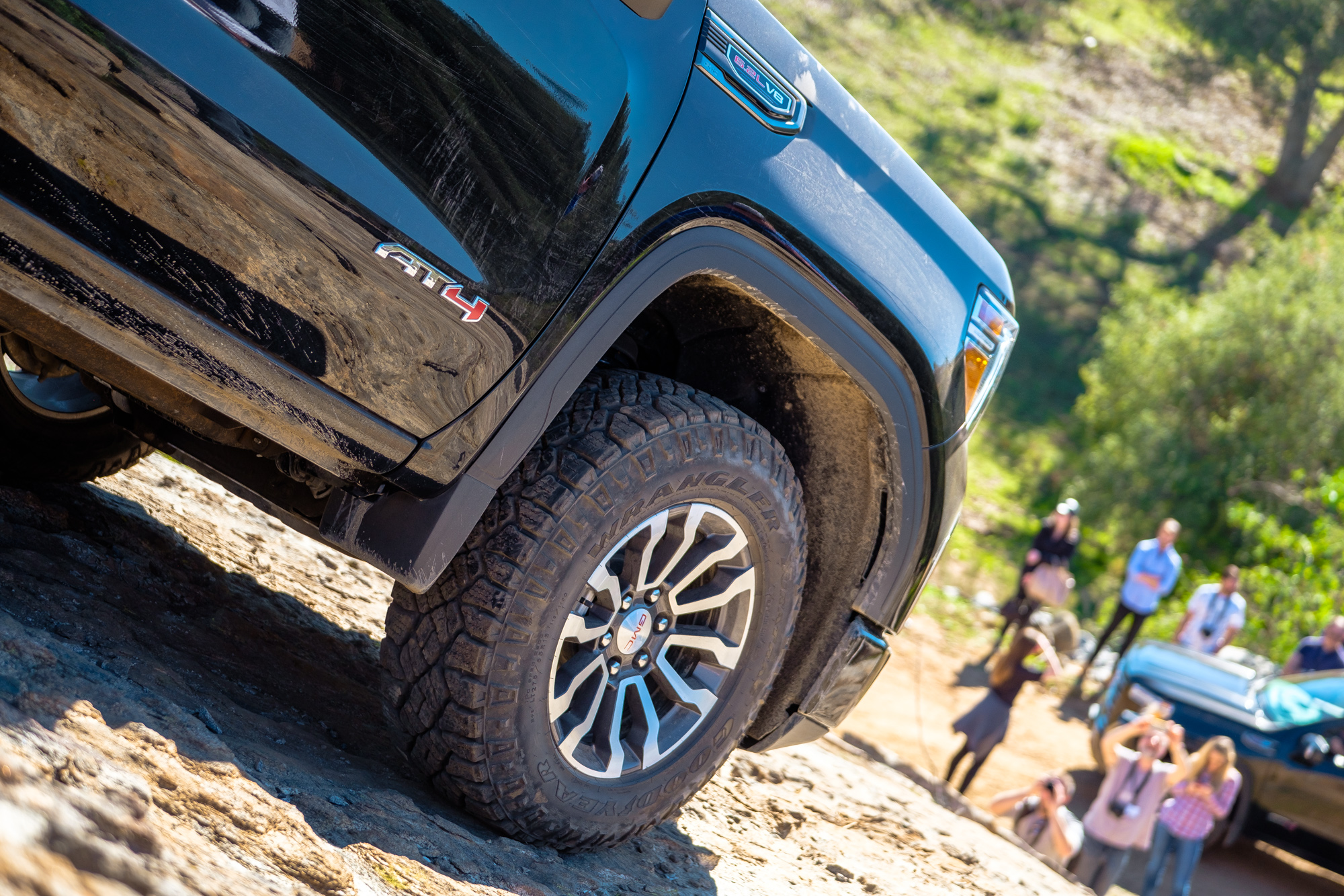 GMC's AT4 Brings Competition to TRD Pro Tundra, RAM Rebel
