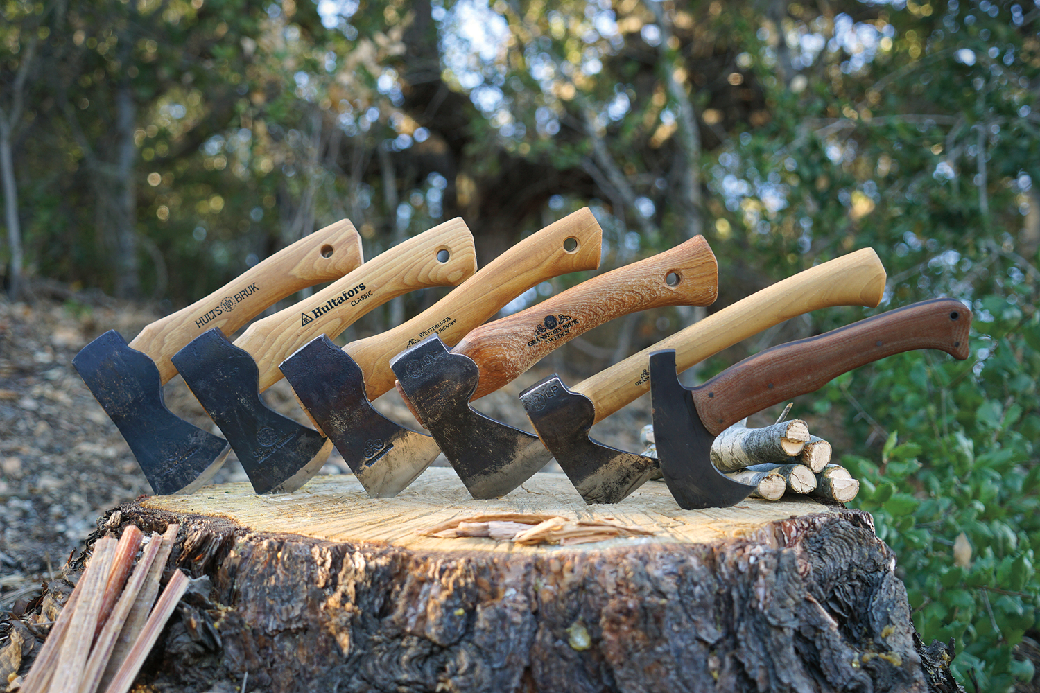 The Best Camp Axe :: Comparison Test