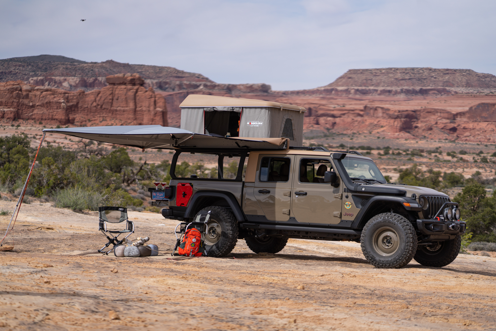 The Jeep Gladiator Wayout Expedition Portal