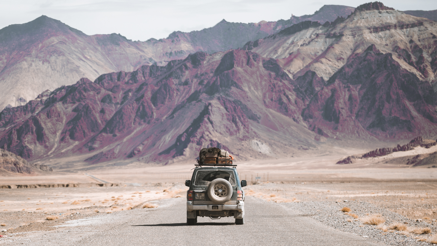 Overland; Through the Middle of the World