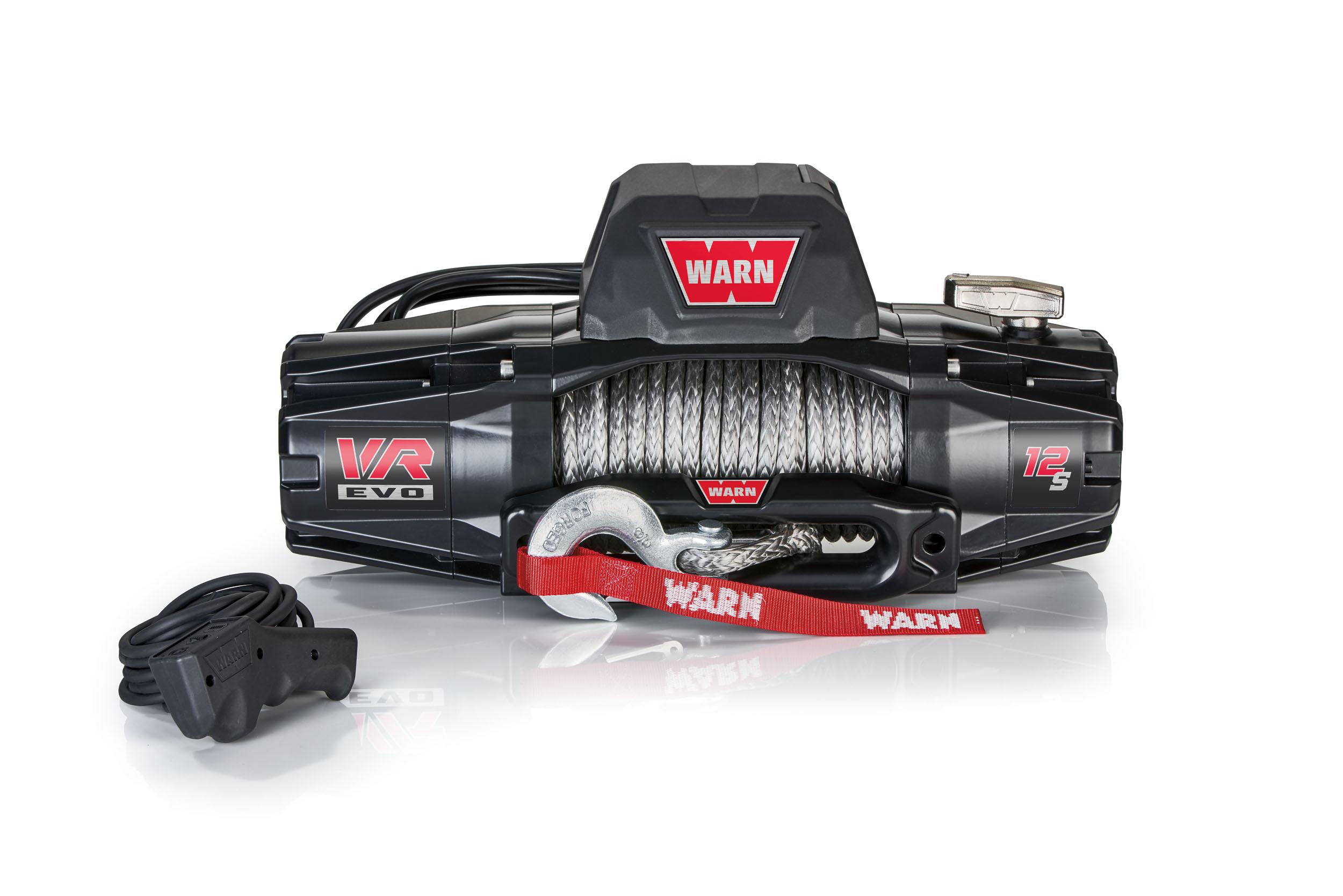 Warn VR EVO winch with controller