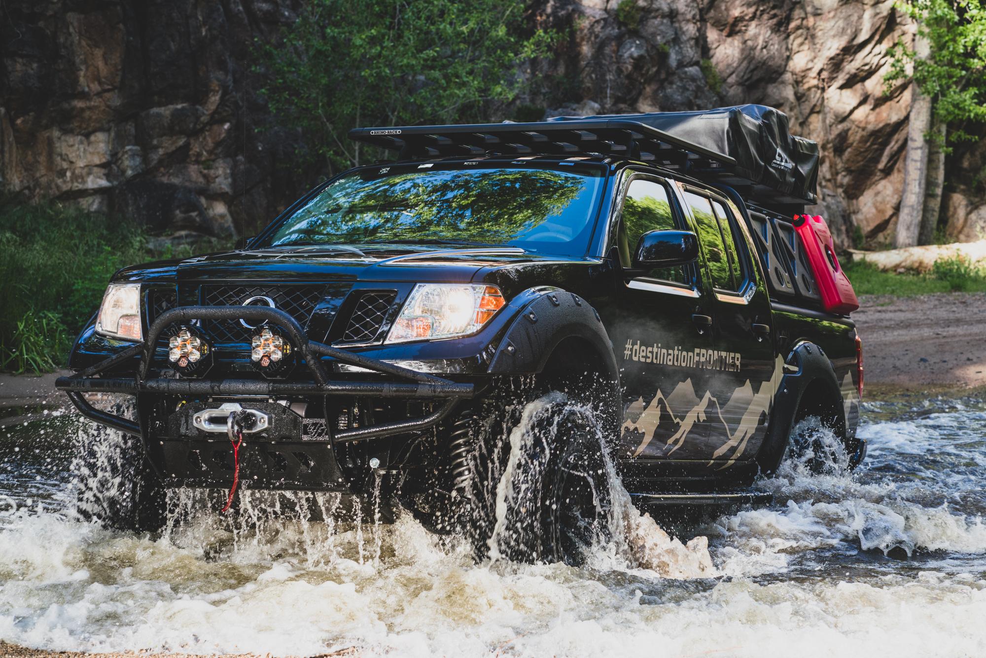 Nissan Destination Frontier water