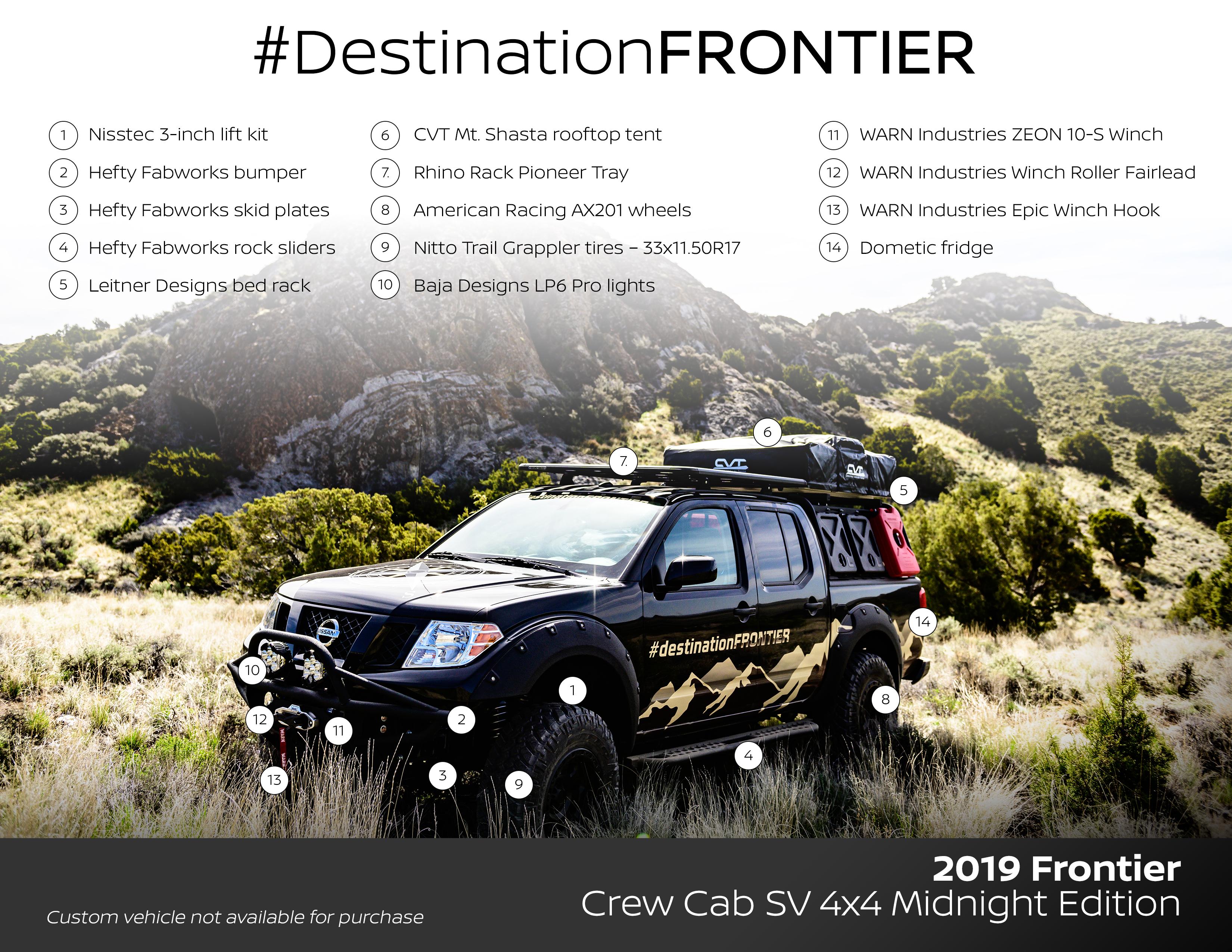 Nissan Destination Frontier full specs