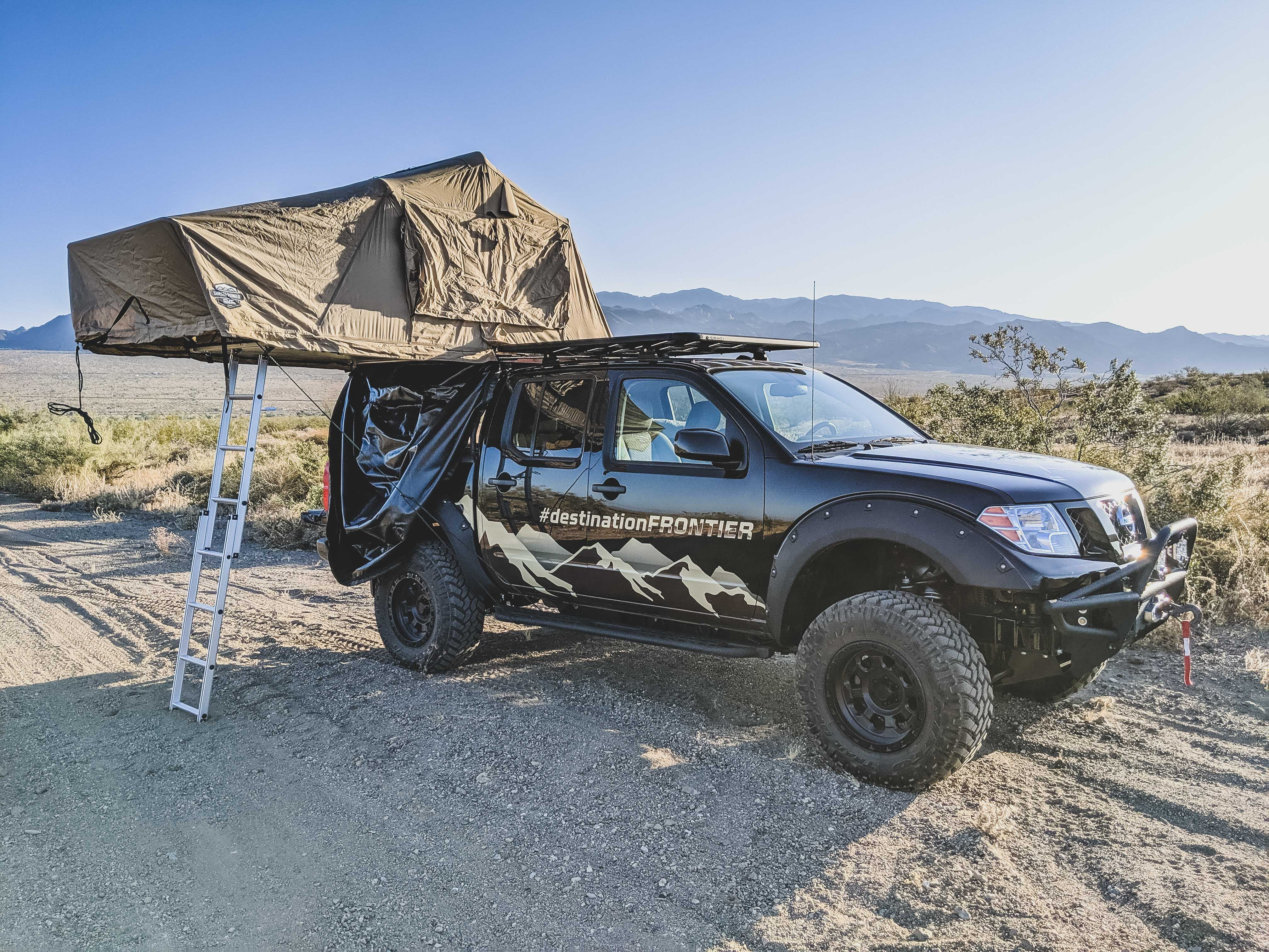 Nissan Roof Tent