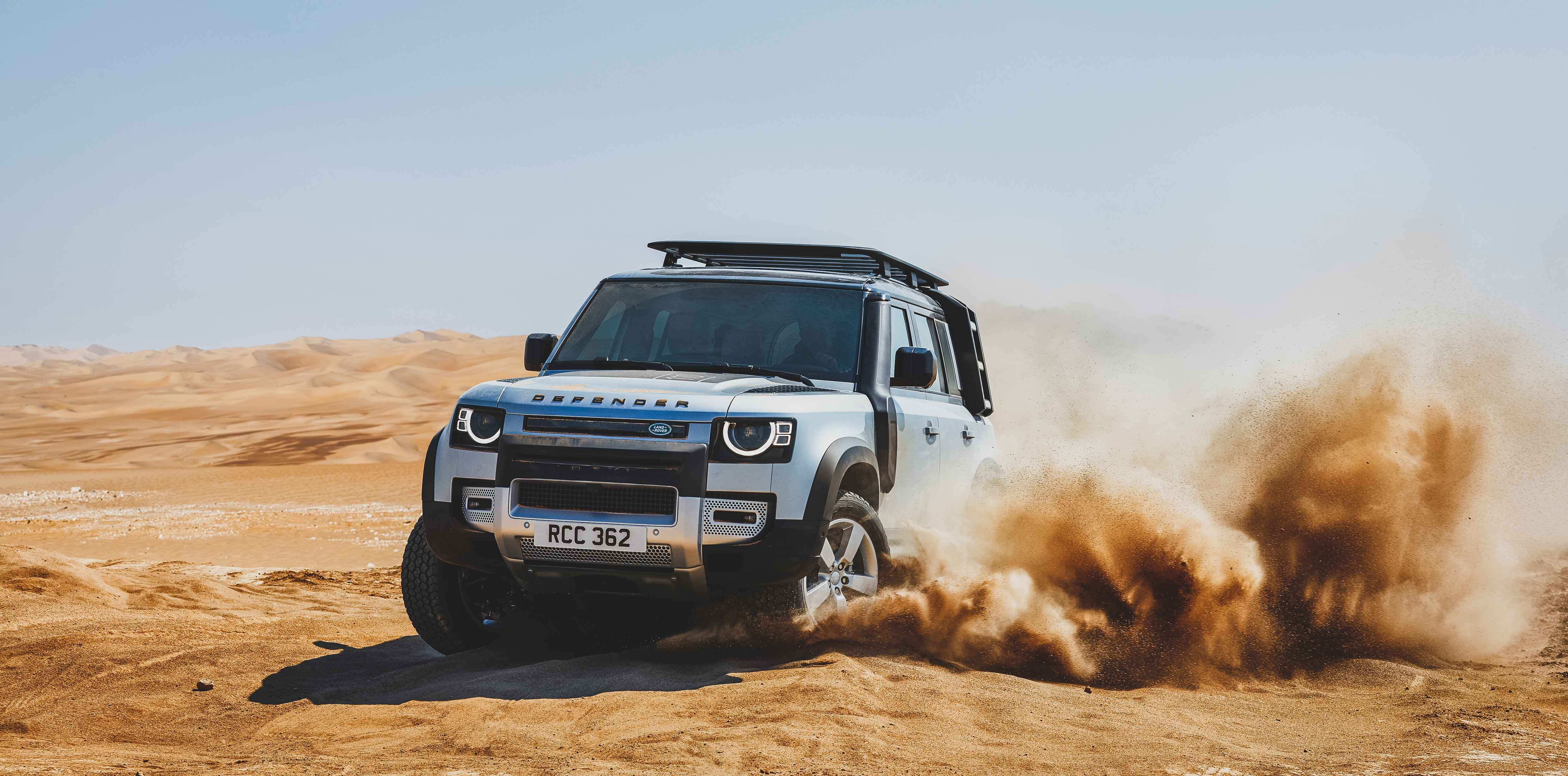 The New Defender Takes On the World