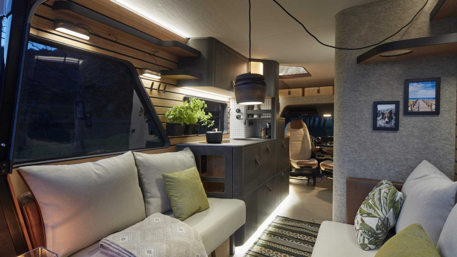 Hymer's Vision Venture Sprinter Might Have The Coolest Interior Ever