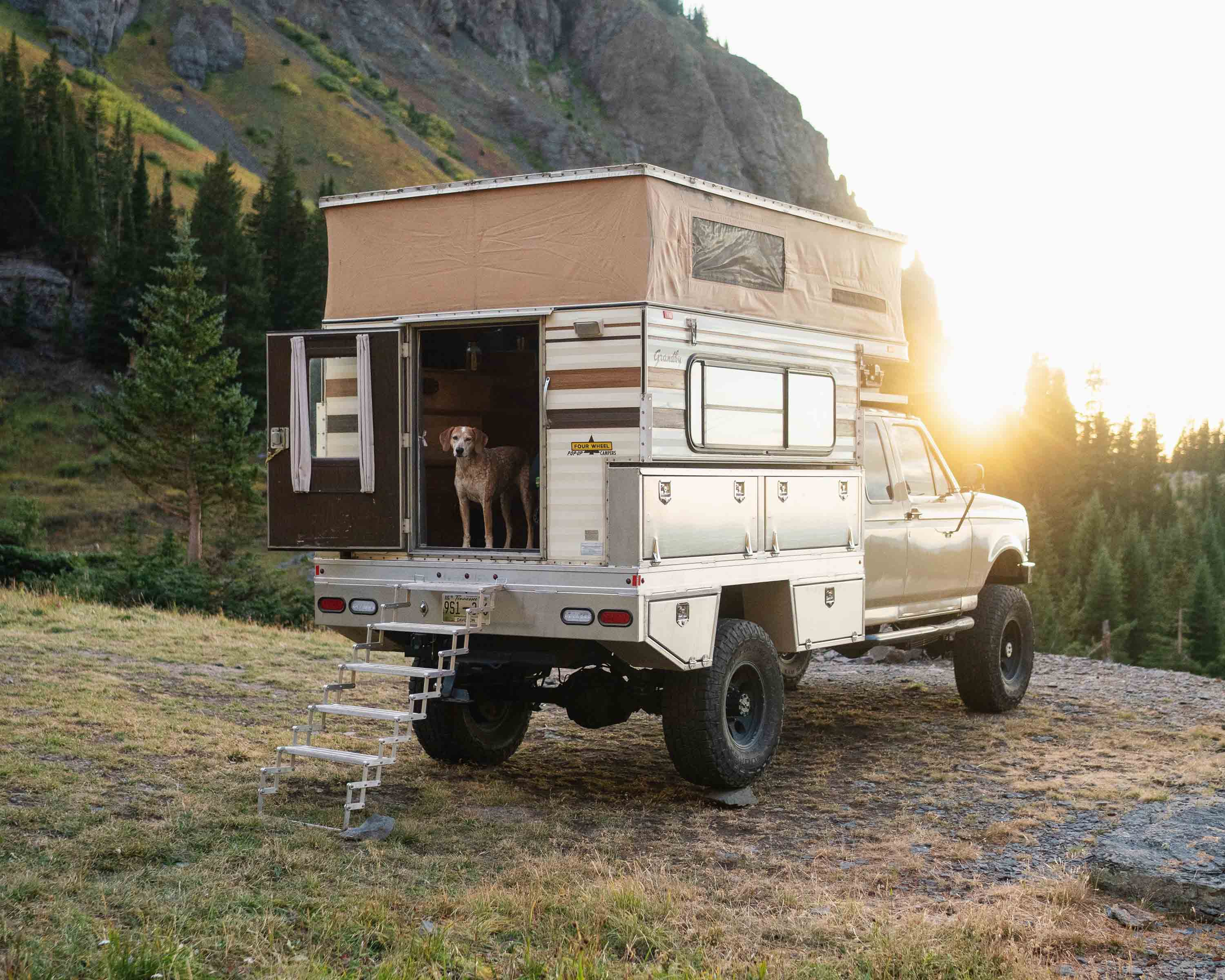 Expedition Portal Classifieds: 1995 Ford F-350 7.3L Camper