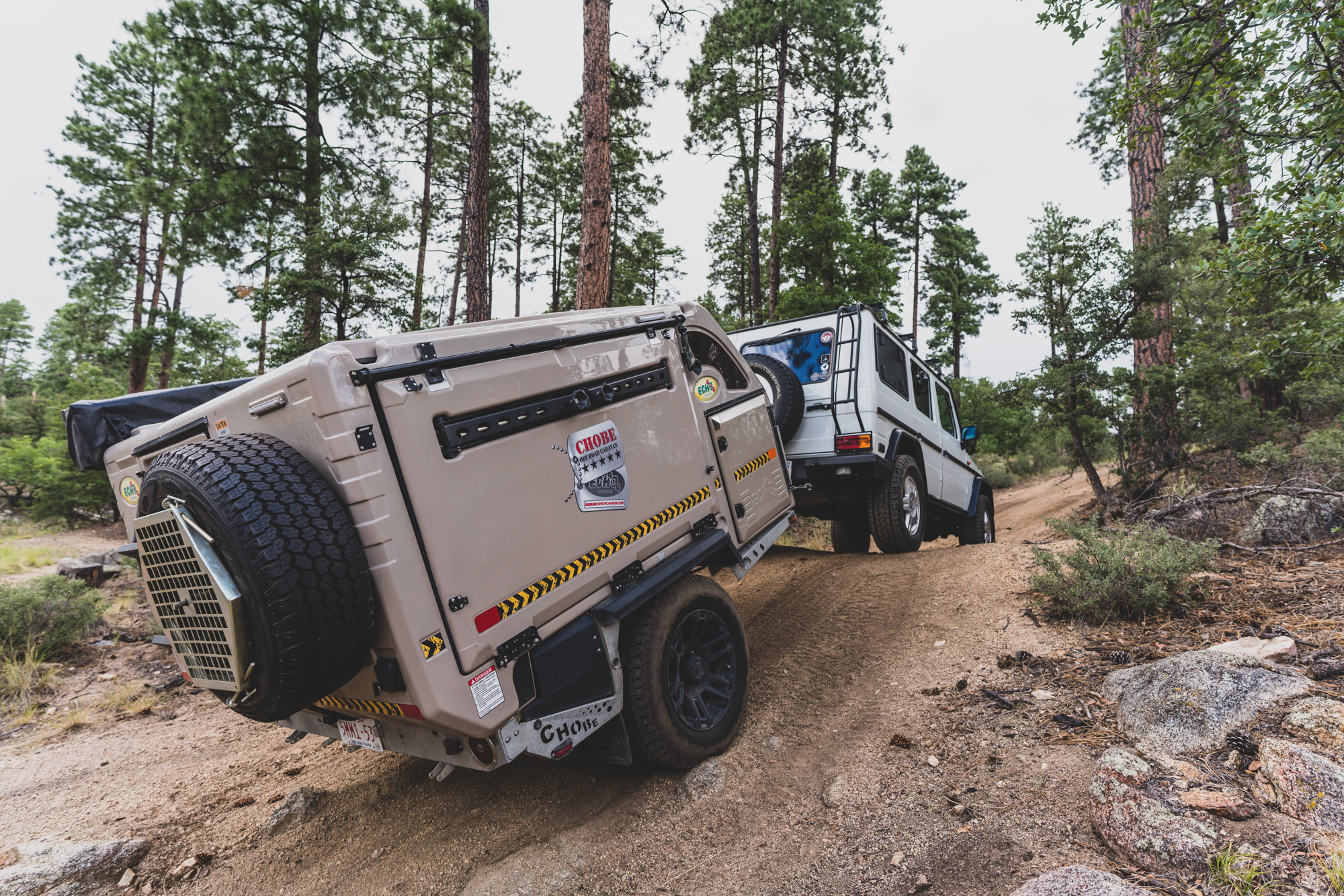The Chobe Tec Overland Trailer Sleeps Four