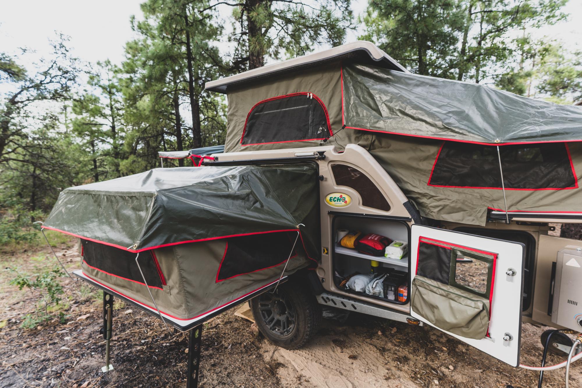 The Chobe Tec Overland Trailer Sleeps Four - Expedition Portal
