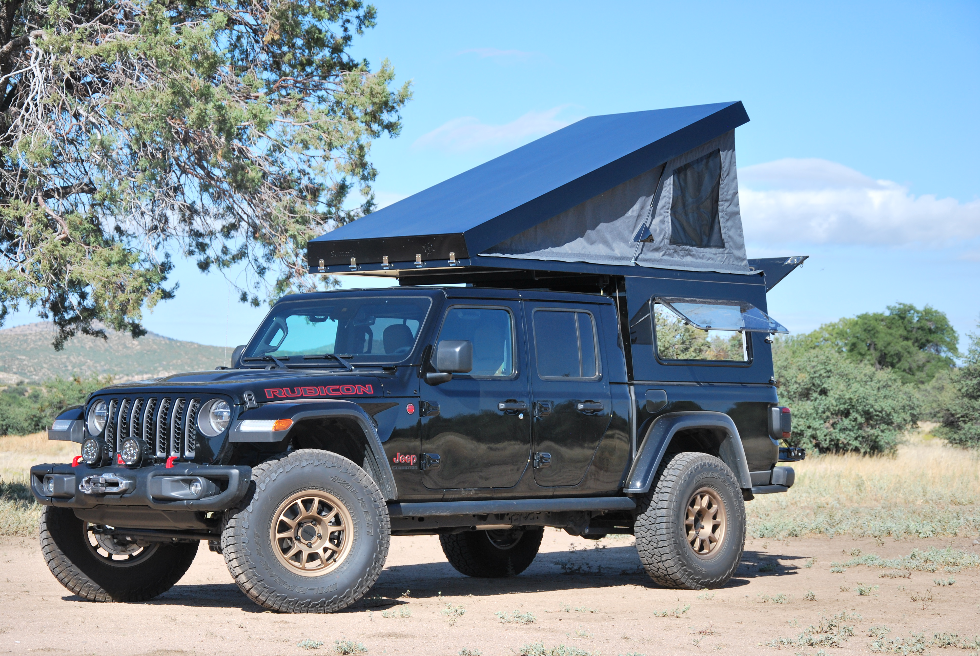 The Jeep Gladiator Camper