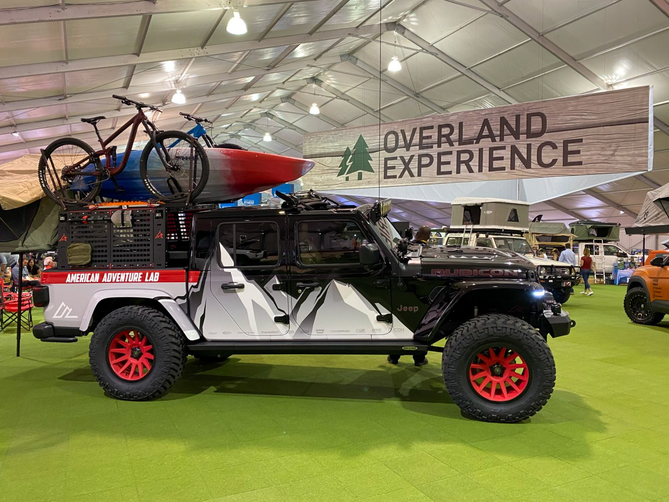 SEMA Show Day 1 :: The Overland Experience Area