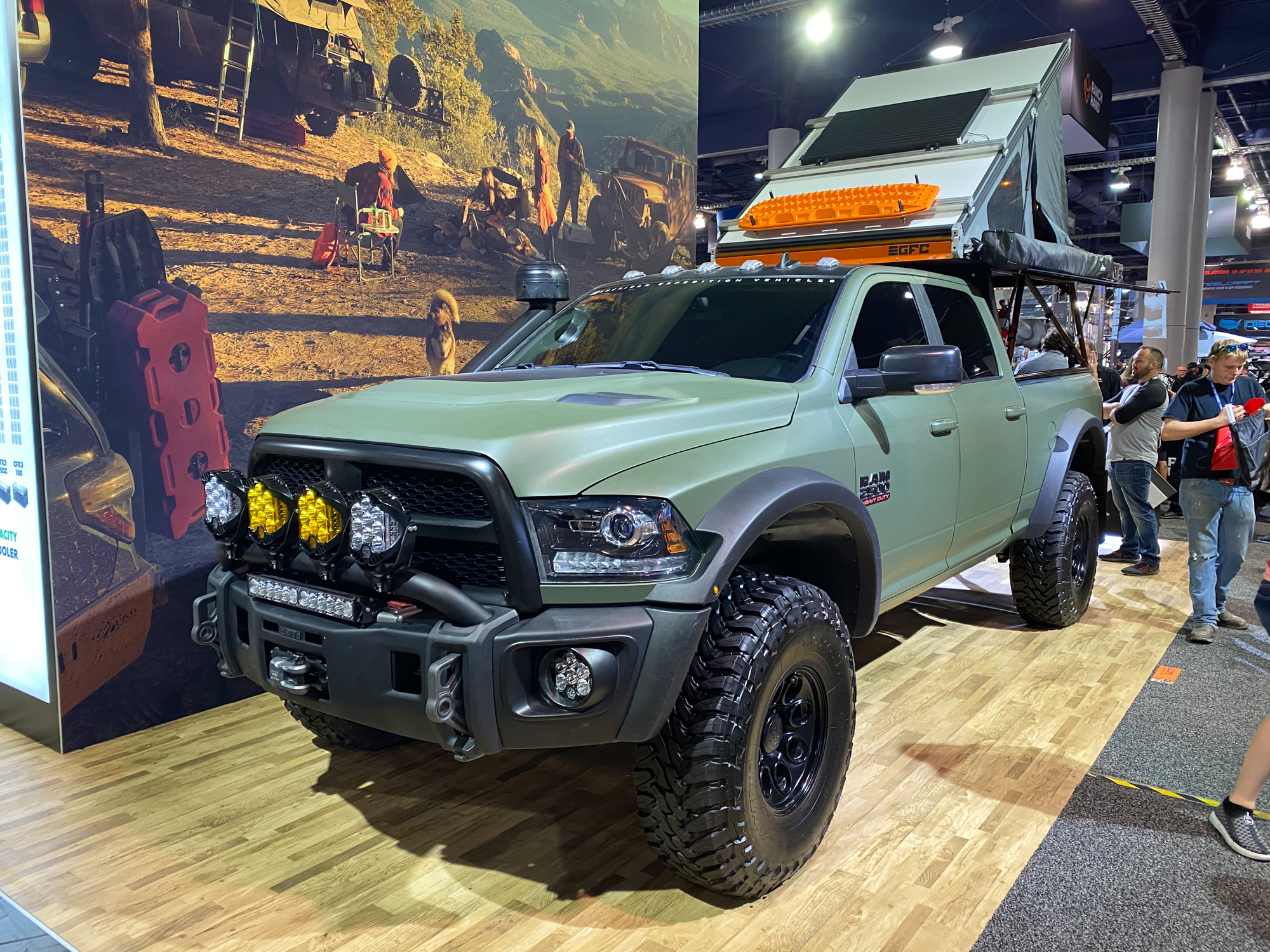 The Best of SEMA Overland 2019