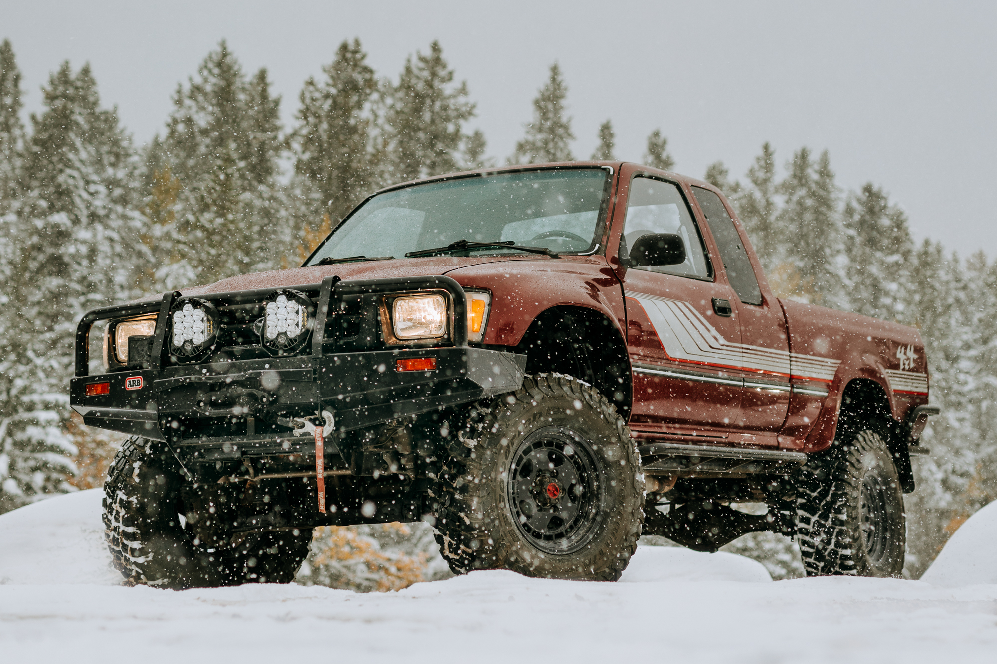 Project Vehicle: Desk To Glory's 1990 Toyota Pickup – Little Red v2.0 - Expedition Portal