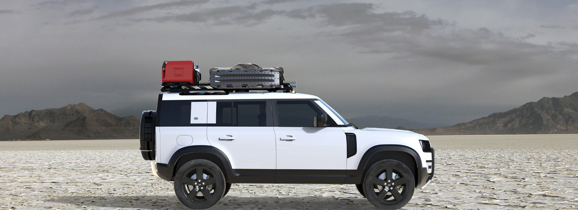 The New Defender Gets A Front Runner Rack - Expedition Portal