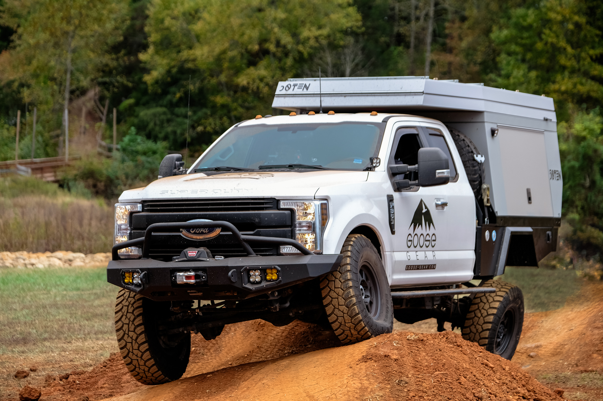 Featured Vehicle: Goose Gear's Overland F-350 - Expedition Portal