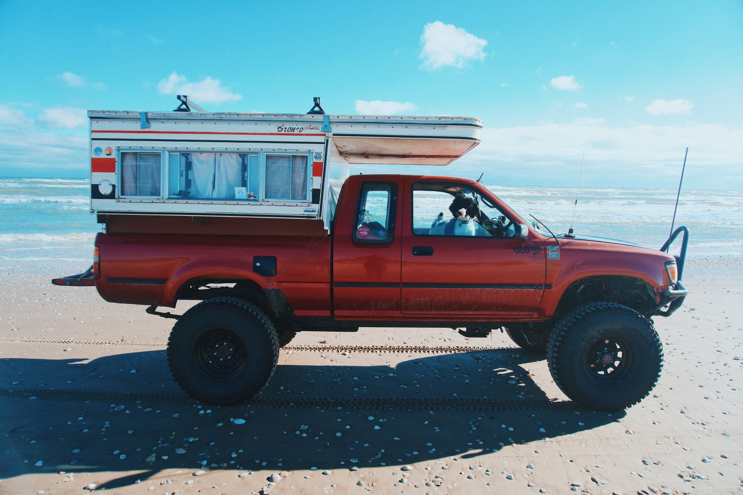 Featured Vehicle: Overland Nomad's Toyota Pickup Camper