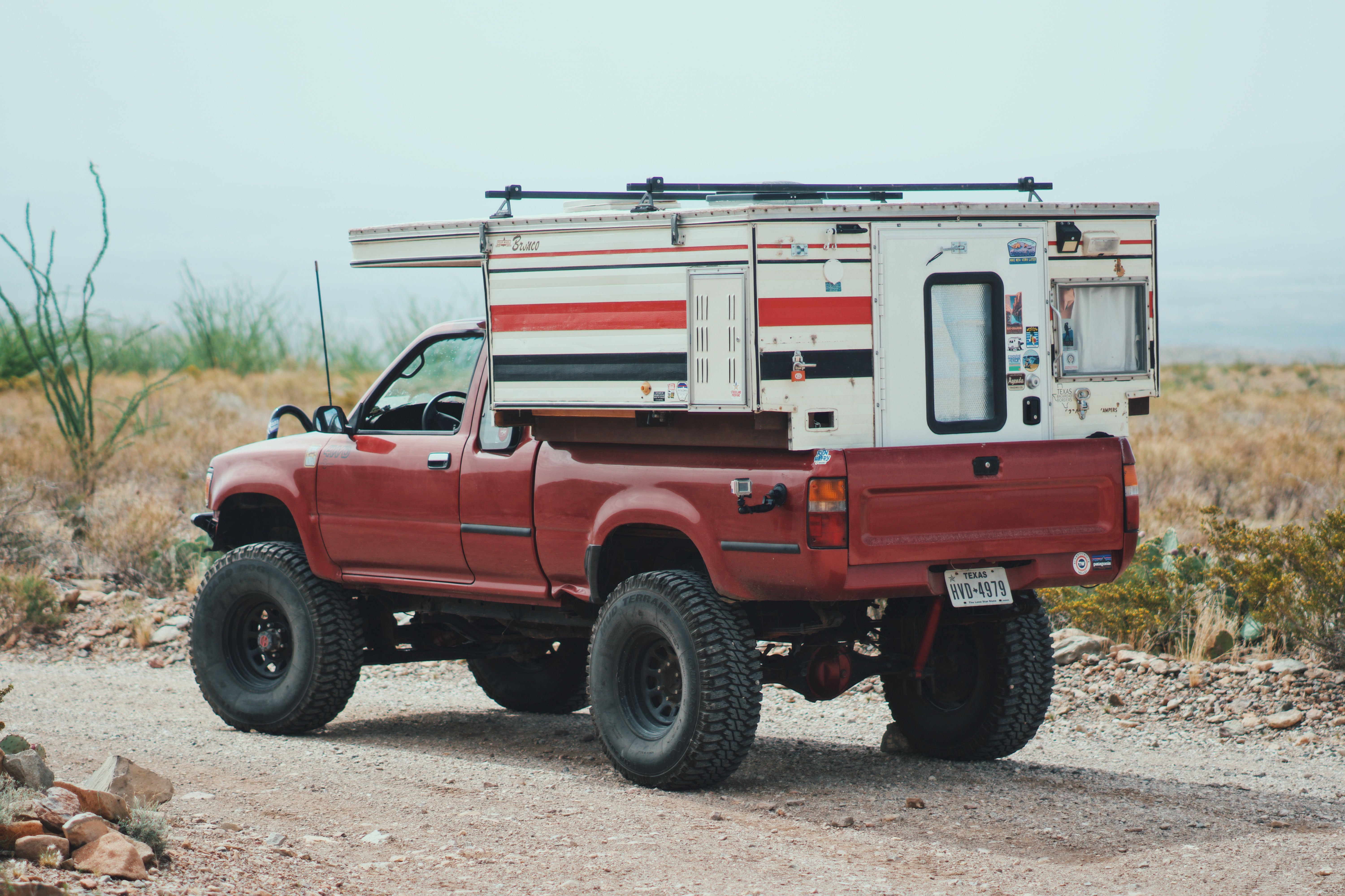 Featured Vehicle Overland Nomad S Toyota Pickup Camper