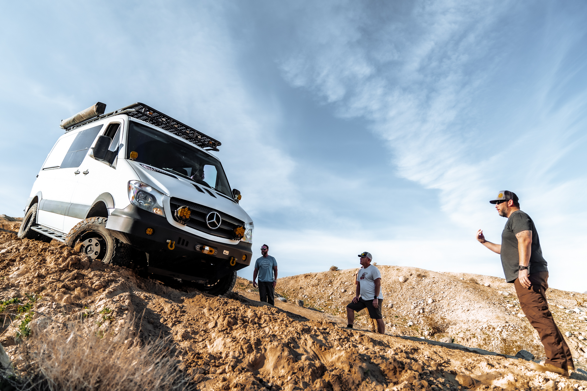 Vehicle Spotlight: More.Van.Ever's Off-Road DRW Sprinter - Expedition Portal