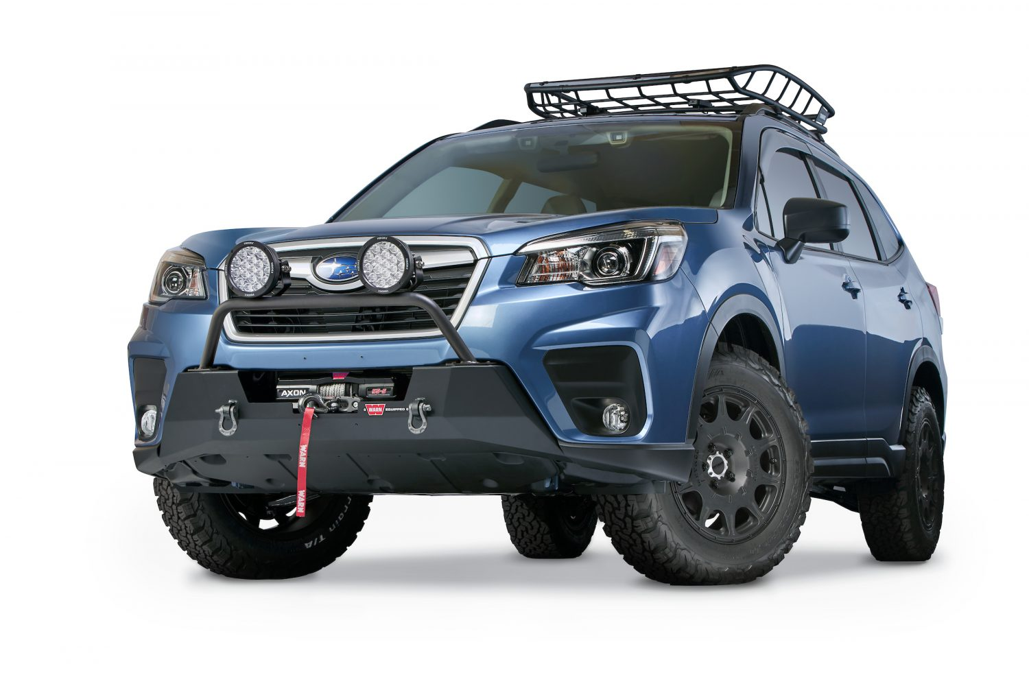 Warn Releases Their New Subaru Forester Winch Tray - Expedition Portal