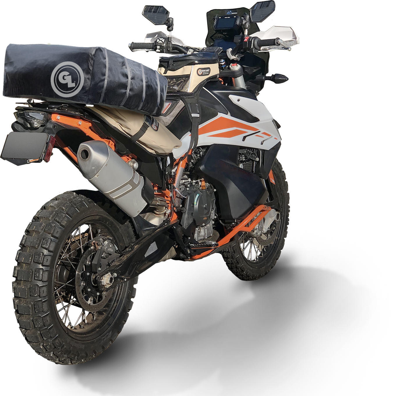 Prenez de la hauteur avec cette tente spécial moto ! Par Robin Ecoeur Moto-Tent-Closed