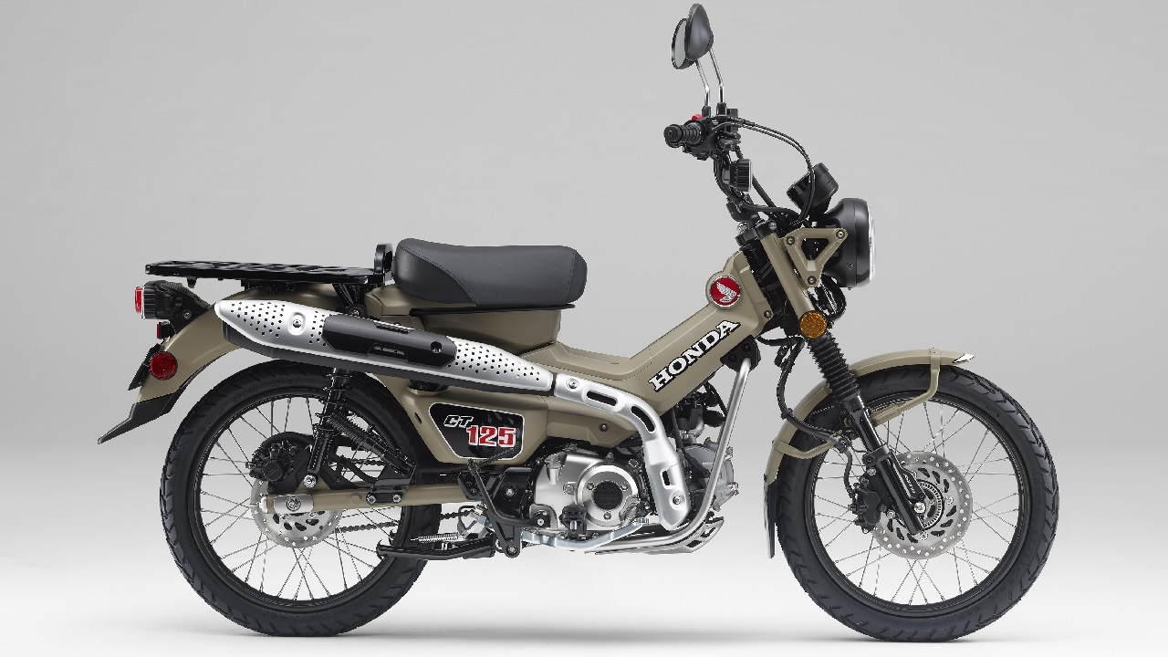 Honda Announces Hunter Cub 125cc Trail Bike - Expedition Portal