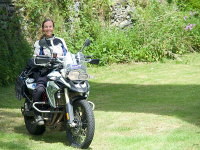 Traveling Around The World by Motorcycle : A Female's Perspective