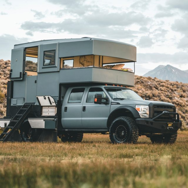 Expedition Portal Classifieds :: Award Winning F-550 Full Custom Camper