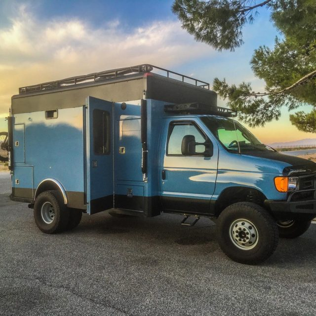 Expedition Portal Classifieds :: E450 Super-duty Fire Rescue Custom Conversion