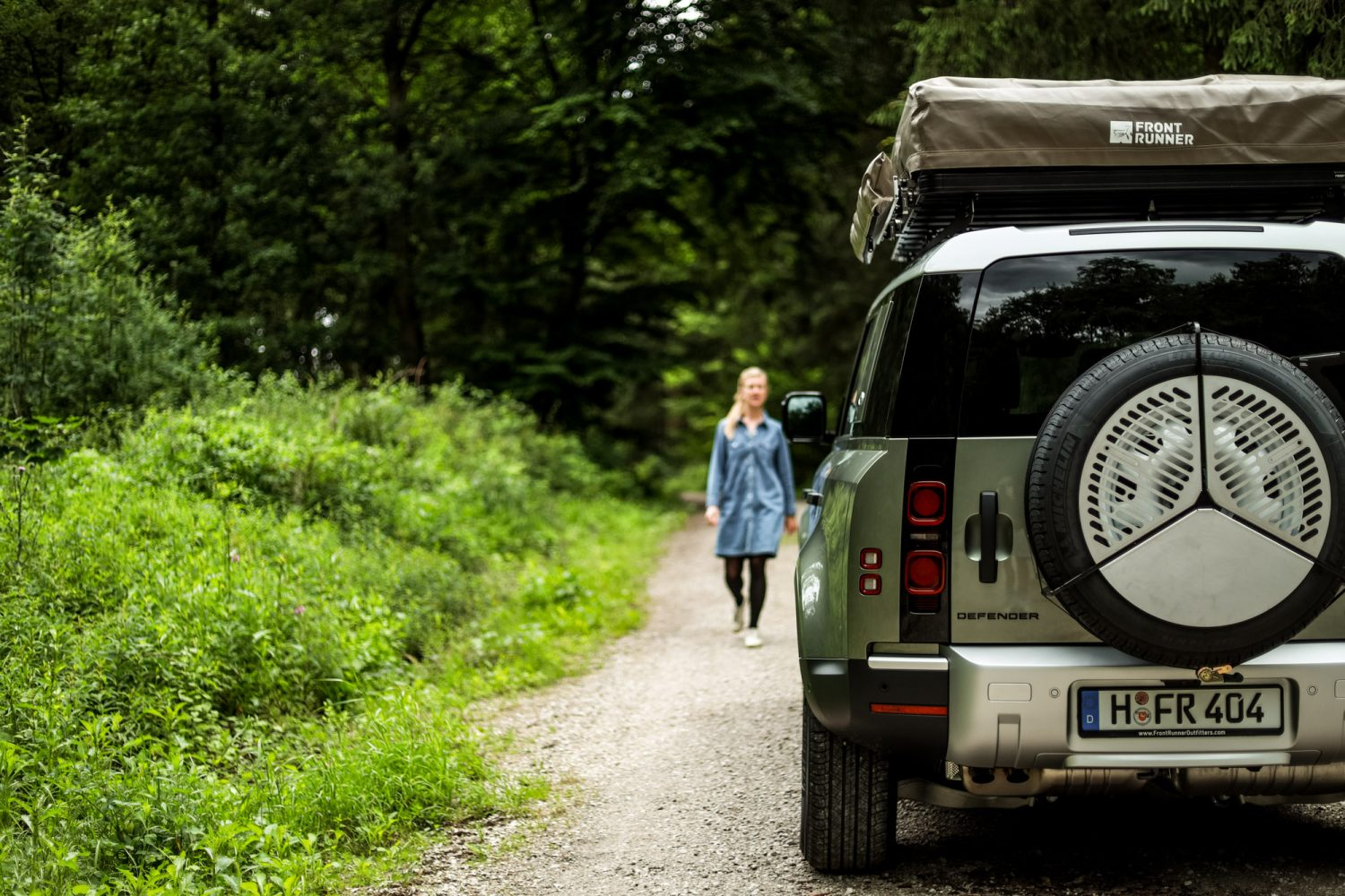 Front Runner Slimline Ii Rack Now Available For New Defender 110 Expedition Portal
