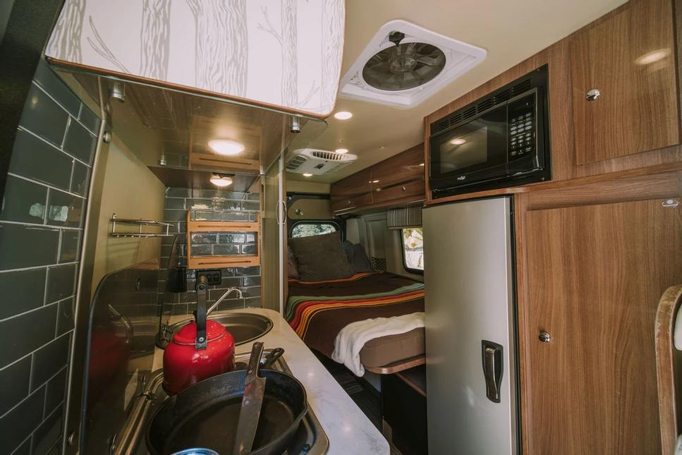 Boulder Campervans interior