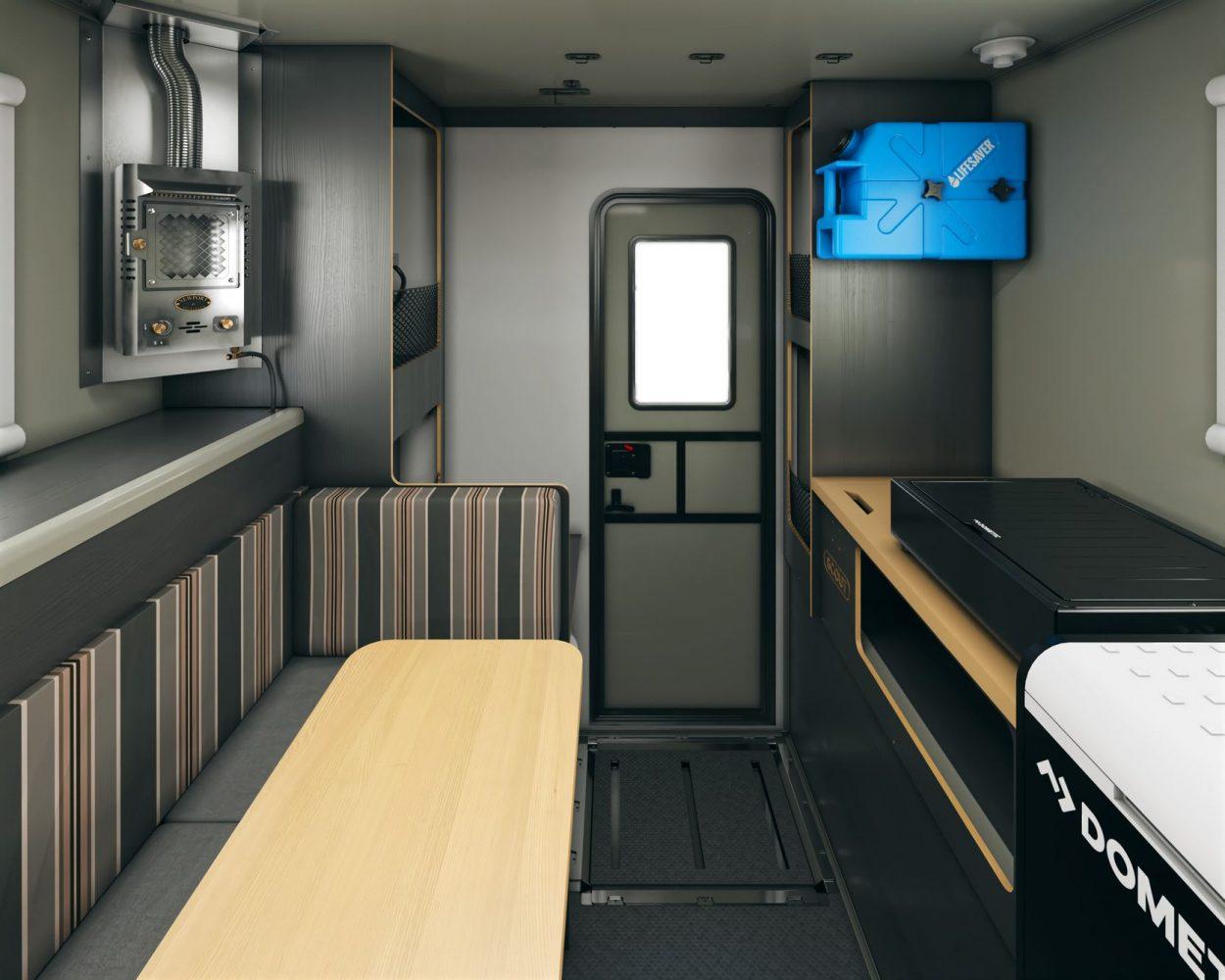 Scout campers kenai truck camper interior layout