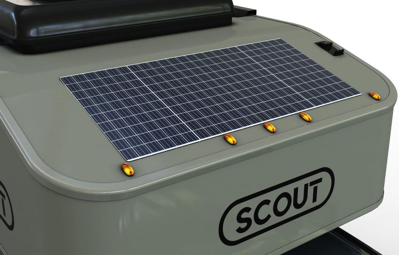 Scout campers kenai truck camper solar panel