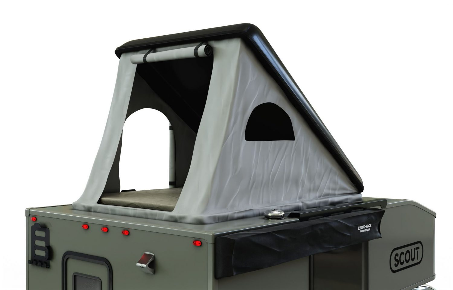 Scout campers kenai truck camper roof top tent