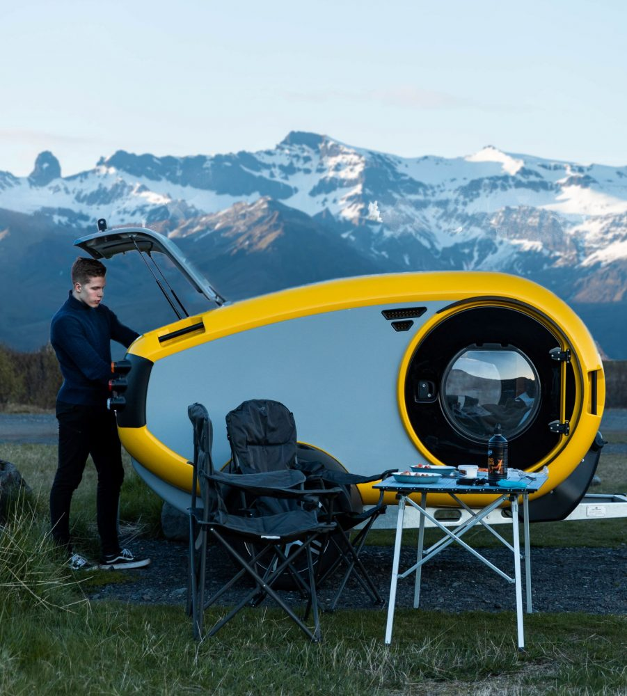 Mink 2.0 teardrop trailer