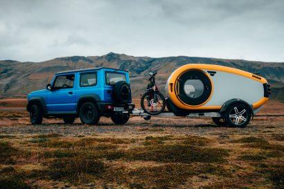 Mink 2.0 Icelandic travel overland trailer