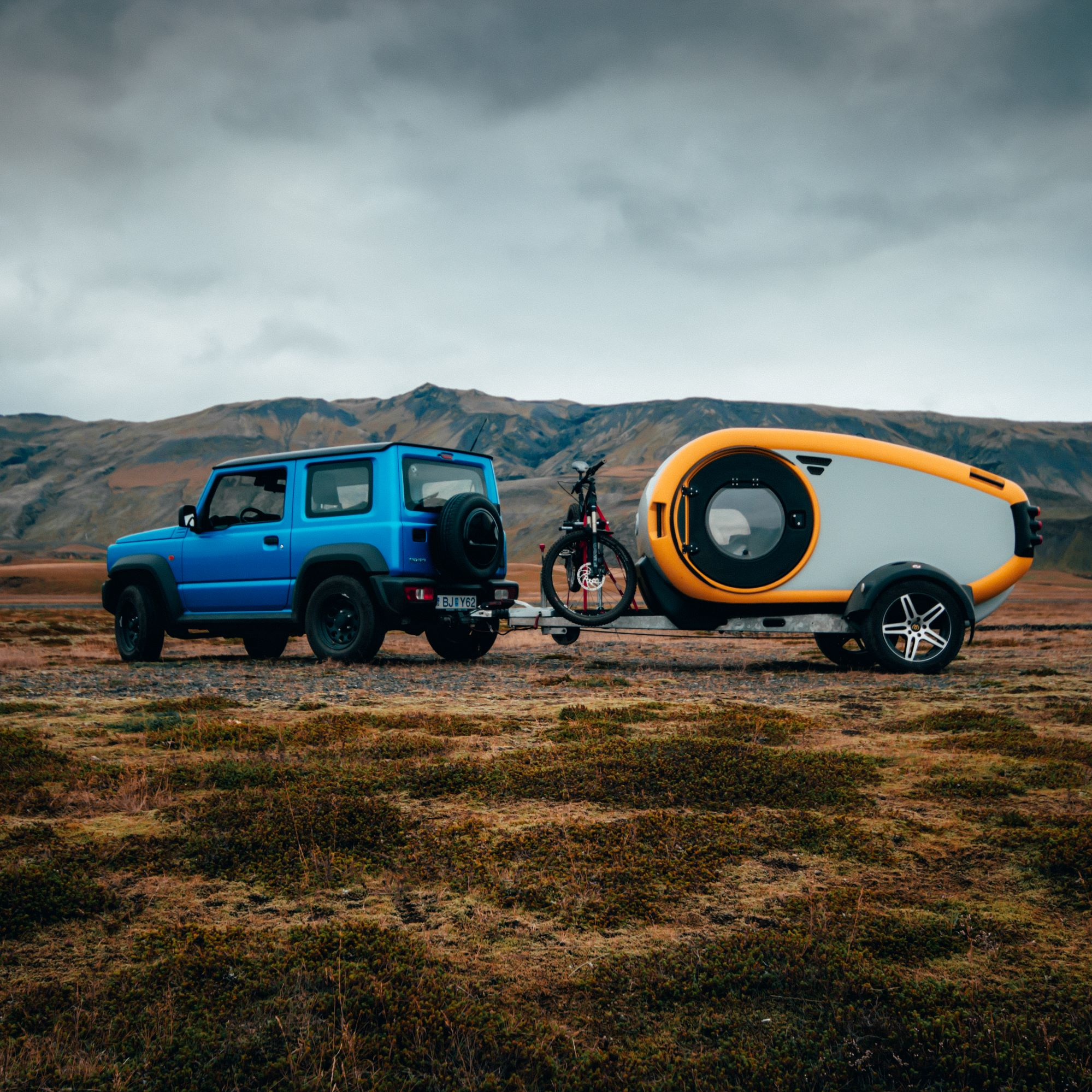 Mink 2.0 Icelandic travel overland trailer