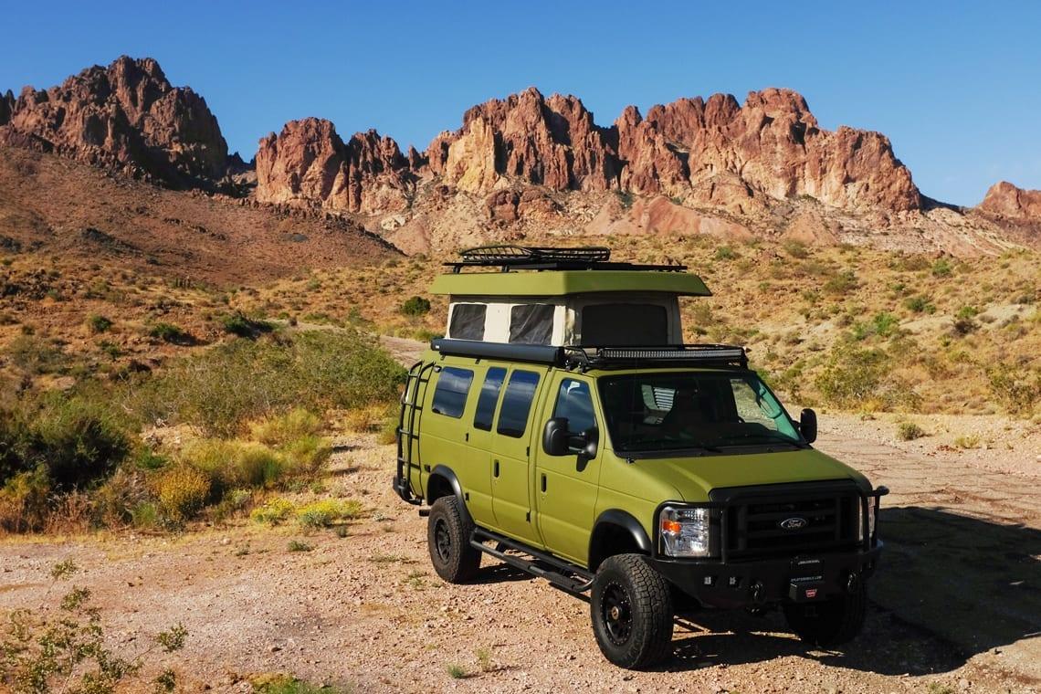 Best 4x4 campervan of 2020: Sportsmobile Classic 4x4