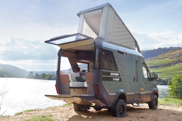 Hymer Vision Venture concept Campervan