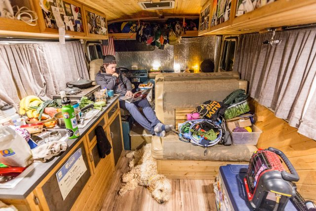 Storage space in a campervan is important