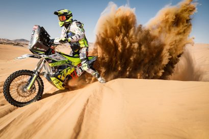 Justin W. Coffey Dakar Rally 2021