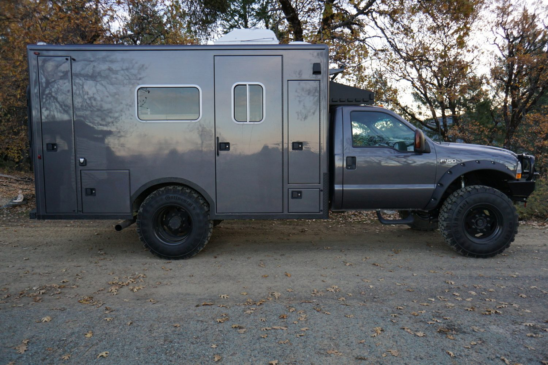 overland classified f450 ambulance